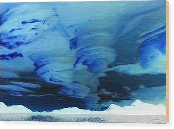 N.w.t. Storms Wood Print by Wayne Bonney