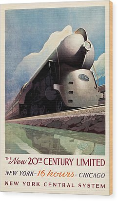 Wood Print featuring the photograph Ny Central System by Allen Beilschmidt