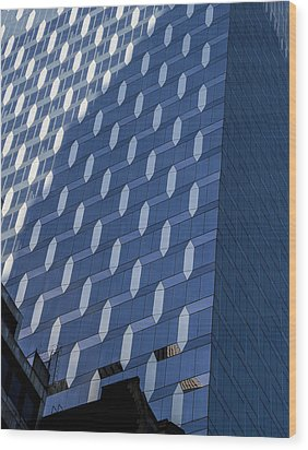 Ny Design Wood Print by Jean Noren
