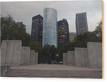 Nyc Vietnam Memorial Wood Print