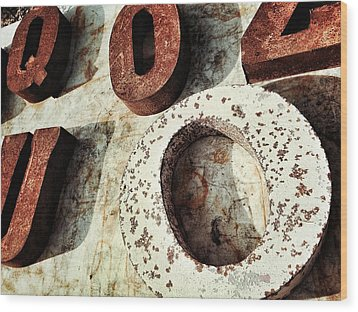 O And Co. Wood Print by Olivier Calas