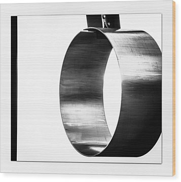 Wood Print featuring the photograph O by Darryl Dalton