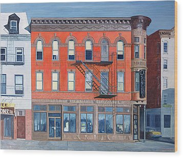 O Sunghai Restaurant West Village Wood Print by Anthony Butera