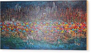 Oak Street Beach Chicago II -sold Wood Print
