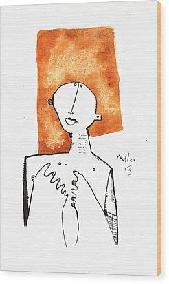 Oaths No.1 Wood Print by Mark M  Mellon