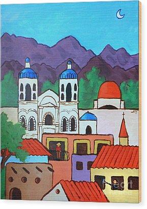 Oaxaca Wood Print