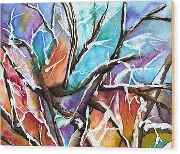 Oaxie Wood Print