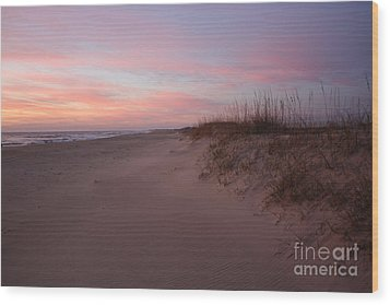 Obx Serenity Wood Print by Tony Cooper