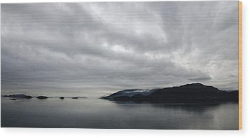 Wood Print featuring the photograph Ocean Art In The Straights Of Magellan Chile by Sally Ross