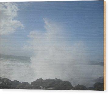 Ocean Boon Wood Print