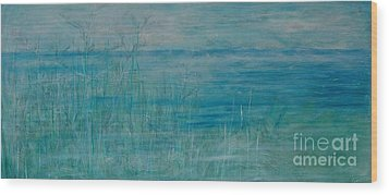 Wood Print featuring the painting Ocean Breeze by Jocelyn Friis