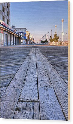 Ocean City Wood Print by JC Findley