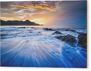 Ocean Dream Wood Print