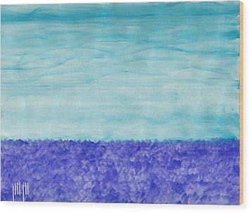 Ocean Horizon Wood Print