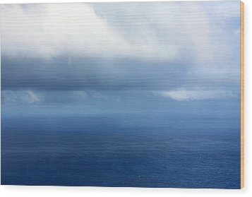 Ocean Of Existence Wood Print by Karon Melillo DeVega