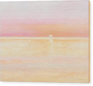 Ocean Symphony Wood Print