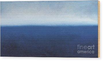 Oceanic Meditation Wood Print