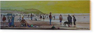 Oceans Beach San Francisco Wood Print