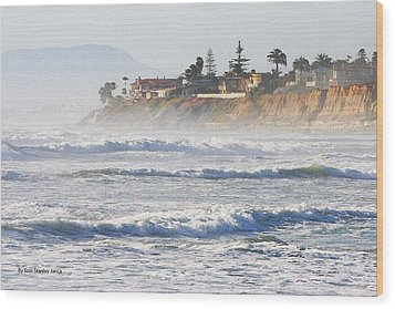 Wood Print featuring the photograph Oceanside California by Tom Janca