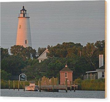 Ocracoke Island Wood Print
