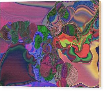 Octavio Bizarro Wood Print