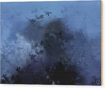 October Blues Wood Print by Gun Legler