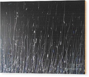 Ode Wood Print by Nereida Rodriguez