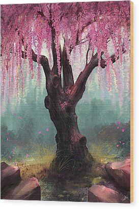 Ode To Spring Wood Print by Steve Goad