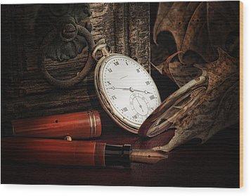 Of Times Gone By Wood Print by Tom Mc Nemar