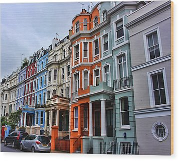 Off Portobello Road Wood Print