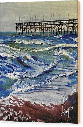 Off Season At Northtopsail Wood Print