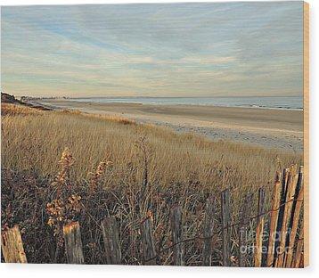 Ogunquit Beach 3 Wood Print