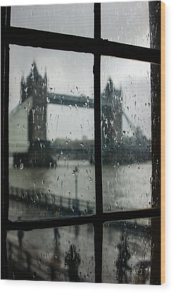 Wood Print featuring the photograph Oh So London by Georgia Mizuleva