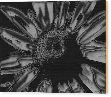 Oh Susan Wood Print by Rebecca Flaig