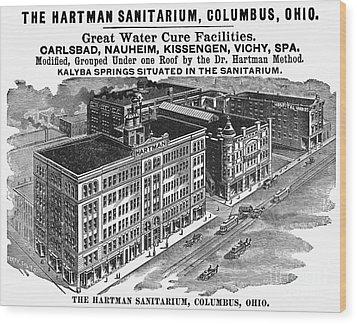 Ohio: Sanitarium, 1901 Wood Print by Granger