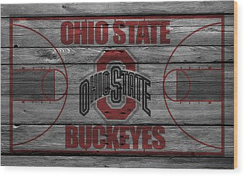 Ohio State Buckeyes Wood Print by Joe Hamilton
