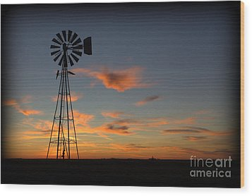 Oklahoma Skies 1 Wood Print by Jim McCain