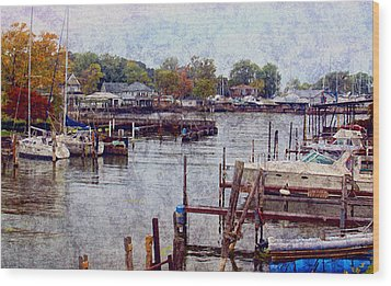 Wood Print featuring the photograph Olcott by Tammy Espino
