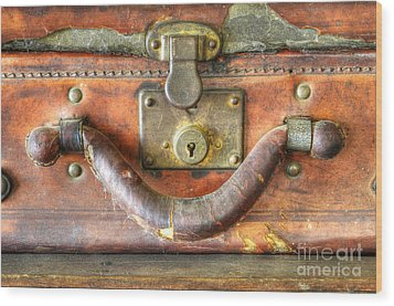 Old Baggage Wood Print by Bob Christopher