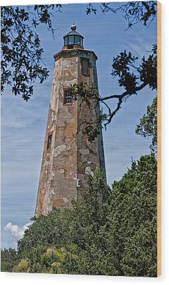 Old Baldy Wood Print by Sandra Anderson