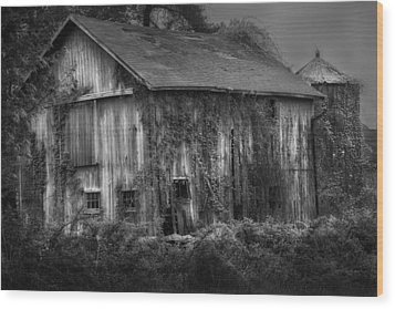 Old Barn Wood Print by Bill Wakeley