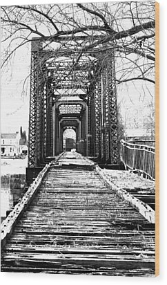 Old Bridge Wood Print