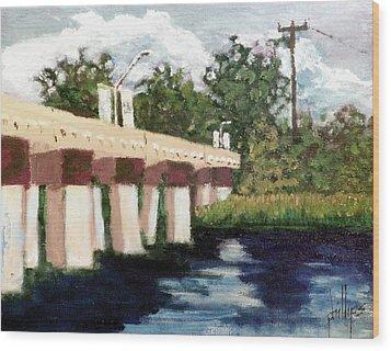 Old Bridge Street Bridge Wood Print