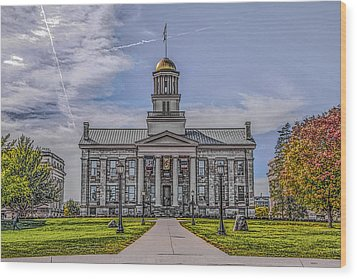 Old Capitol Wood Print