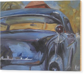 Old Car Wood Print by Lindsay Frost