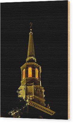 Old Christ Church Wood Print by Louis Dallara