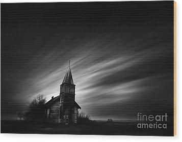 Old Church Wood Print by Dan Jurak