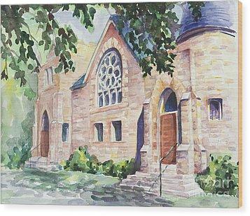 Old Church Wood Print by Svetlana Howe