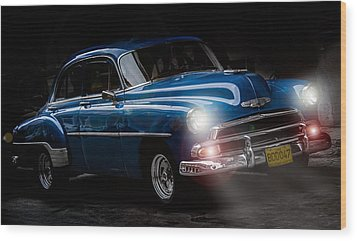 Old Classic Car I Wood Print