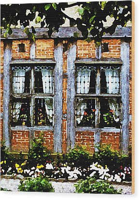 Old Country Charm Wood Print by Gerlinde Keating - Galleria GK Keating Associates Inc
